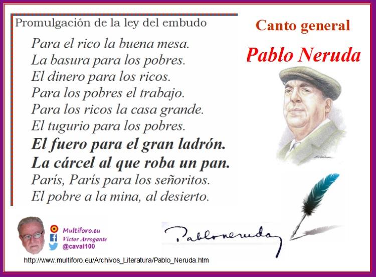 Pablo Neruda 43 Años Tras El Fallecimiento Del Nobel